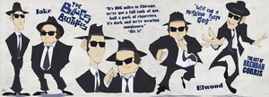 The Blues Brothers by BrendanCorris