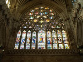 Stained Glass Windows of Exeter Cathedral No. 3 by Kitsune-Akki