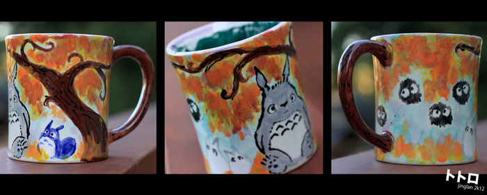 My Neighbor Totoro Mug by hejinglan