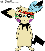 Mike the Pichu by FluffyFerret97