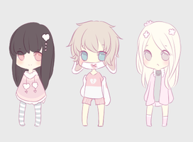 valentines adopts auction OPEN by lol-adopts
