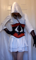 Ezio Assassin's creed cosplay by AverageCosplays