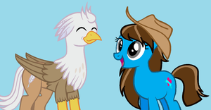Me and Silver Quill by kisshugirl