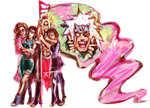 Victorious Banner of Love by jesterry