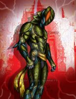 Kamen Rider Komodo 2014 by blueliberty