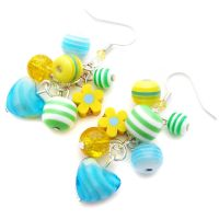 Spring Charm Earrings by fairy-cakes
