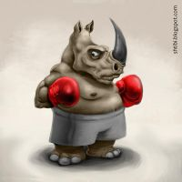 Rhino Boxer by shtibel