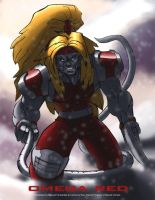Omega Red In Color by DaQuantum