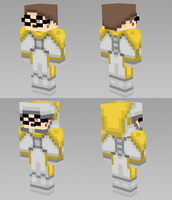 Minecraft Skin - Spacesuit Dr.Scaphandre by BoboMagroto