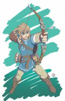 Link: Breath of the Wild by PhilVzQ