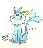 Vaporeon by char1cific