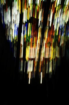 Abstract Chandelier by tre0001