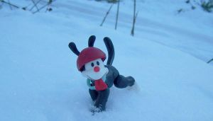I HAS A SNOWS by DaisyDayes