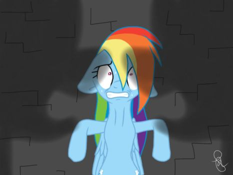 The pranks are over, Rainbow Dash by ilaria122