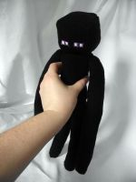 Minecraft Enderman Plushie by Usagi-CRI