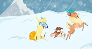 I love when it's snow outside by SoulfulMirror