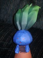 Oddish Papercraft by Skeleman