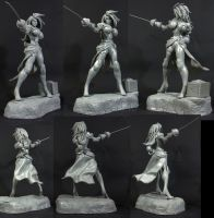 Red Monika 360 Unpainted by SKBstudios