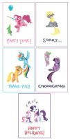 mlp greeting cards by alienfirst