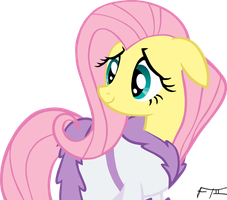 Fluttershy Robed - Remastered by FrankRT