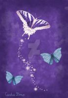 Butterfly of the Night II by VioletDolphin