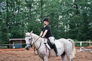 J.C Up on a horse. by Jezzika