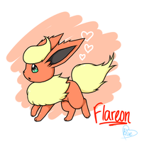 Flareon by Bluekiss131
