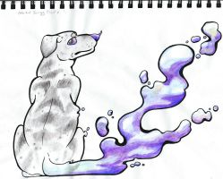 Water-color Pencil Bubbles by NamelessOkami