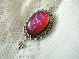 Dragons Breath Necklace by FantasyDesigns1
