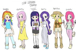 My Little Pony - Chibi anime style by Yuko-Tsukechi