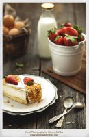 Cheesecake with Strawberry by Studioxil