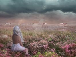 Without the herd by AdriaticaCreation