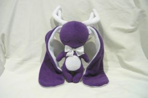 Purple Jackalope by PhantomxFan