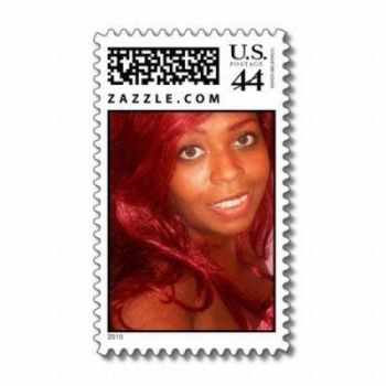 Rose On A Postage Stamp by awesomepinkgirll