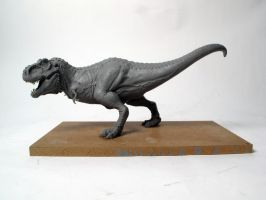 Tyrannosaurus rex finished sculpt 2 by Thomasotom