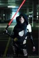 Female Sith Lord by GagaAlienQueen