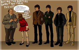 Beatles meet Veruca by TitanicGal1912