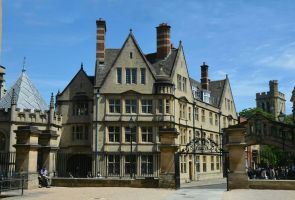 Hertford College, Oxford by Irondoors