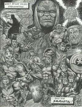 Jack Kirby-The Man Who Would Be KING!!! by StevJVaz72