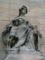 Goddess Columbia and Child by 44NATHAN