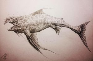 Fish (Sketch) by TGHarrison
