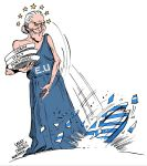 Greece economic crisis by Latuff2