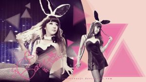 2NE1 Park Bom Wallpaper {Request} by JadeRiverJR