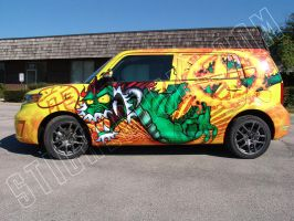 Scion Xb dragon side by Grayscale05
