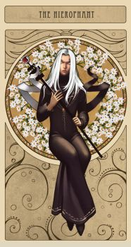 The hierophant by Diablera