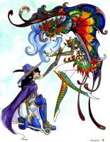 Rookwyn _ Fairy Queen Colored by E1L0n3wy