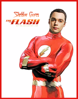 Sheldon Cooper - The Flash by Kot1ka