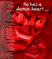 Demon heart by alucardserasfangirl