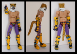 Custom Action Figure - King (Tekken) by rittie145