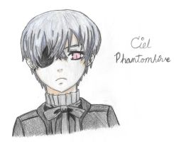 Ciel Phantomhive from Black Butler by journster